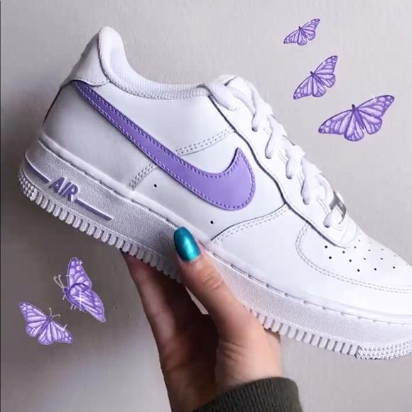 Nike Shoes | Lavender Purple Nike Air